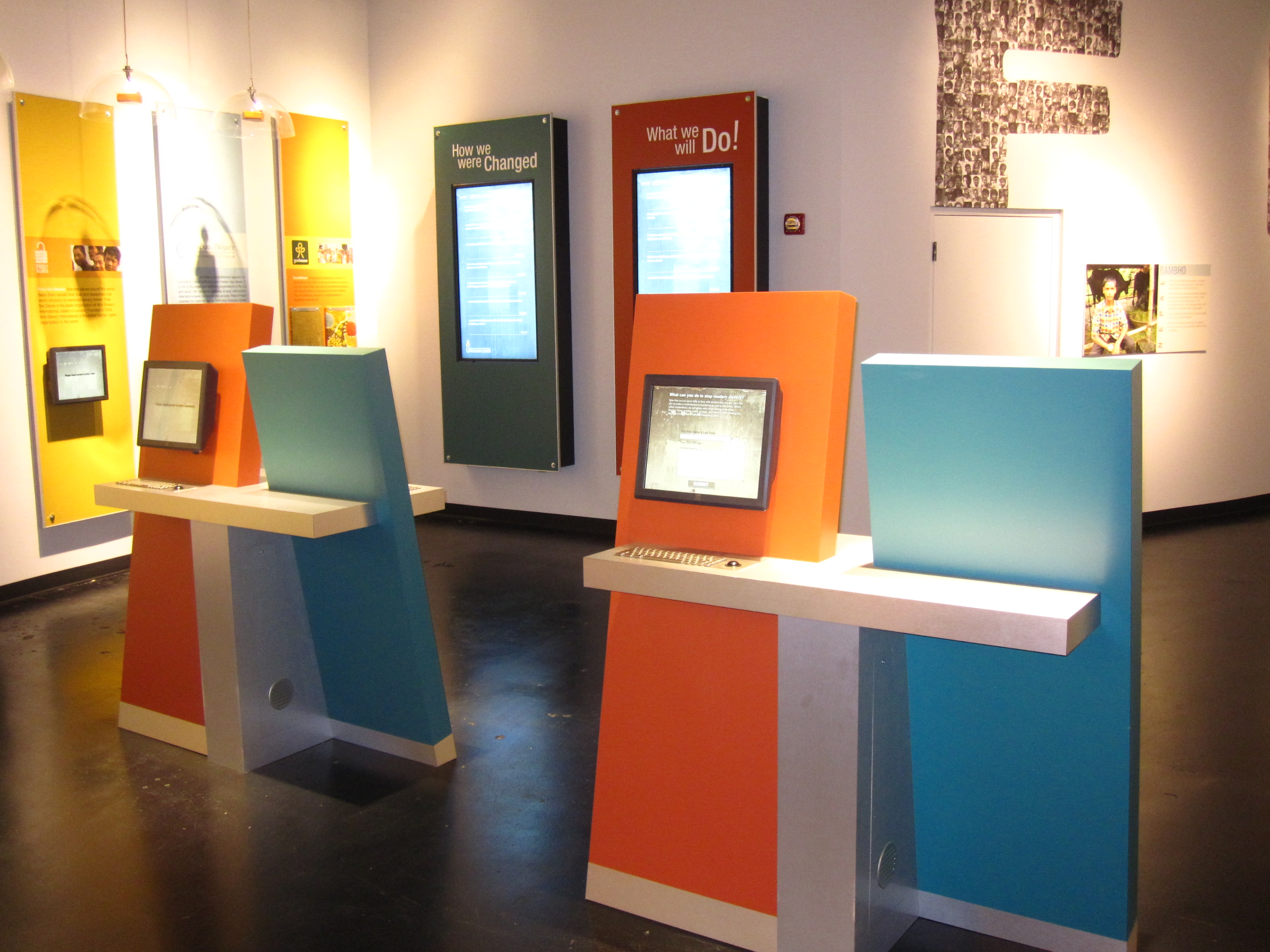Interactive Kiosks For Museums